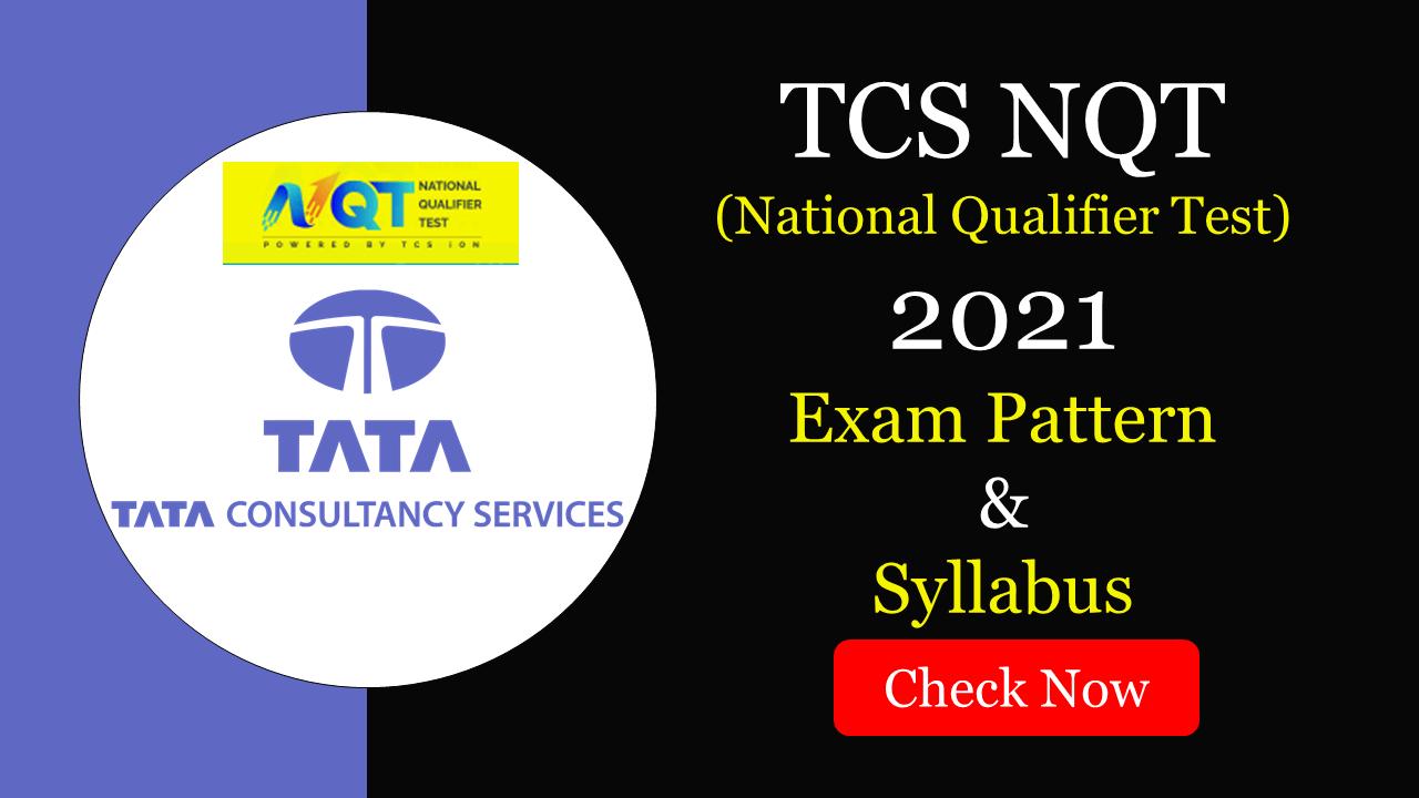 TCS NQT 2021 Syllabus