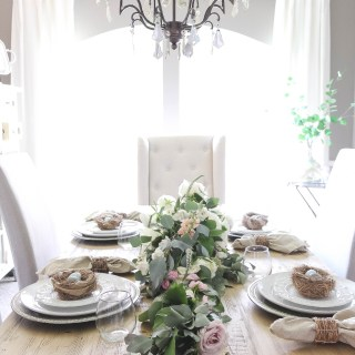 Our Easter Table Setting
