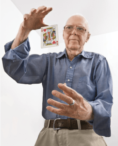 Martin Gardner Magic Trick
