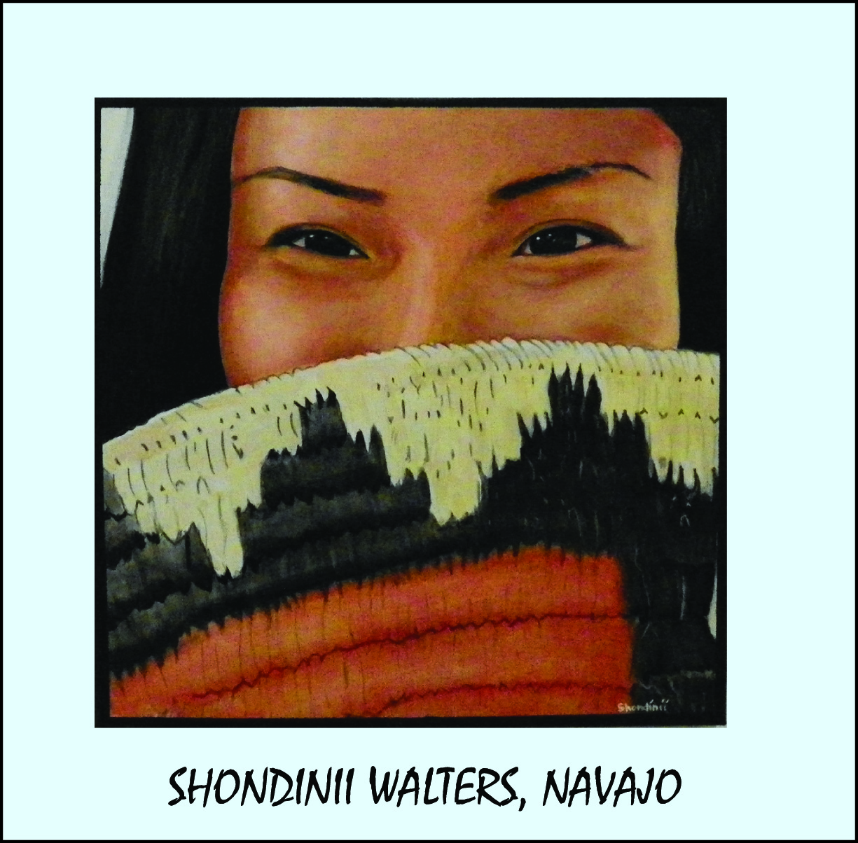 Shondinii Walters, Navajo Artist