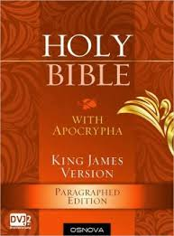 BIBLE WITH APORCYPHA