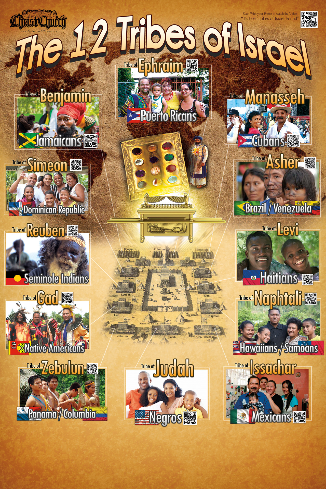 The 12 tribes of Israël  12-tribes-poster-web