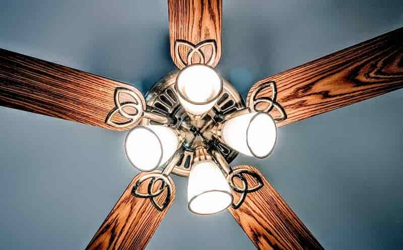 best ceiling fans with bright lights in