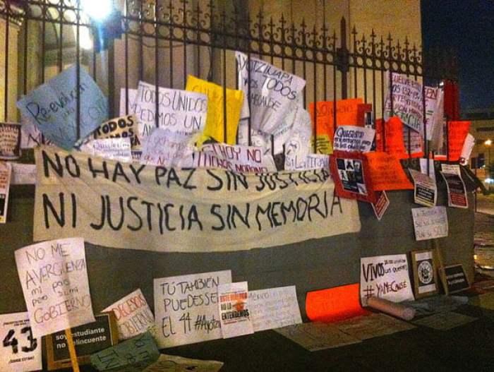 Autor: Realidad Aumentada. Actos de protesta en México