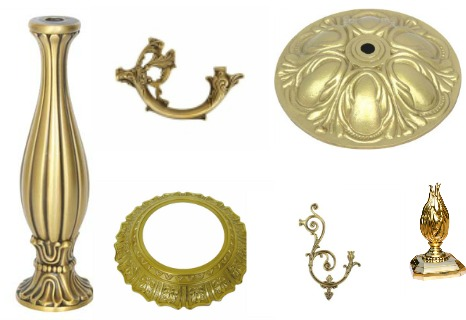 Check All Our Brass Lighting Parts Gallery