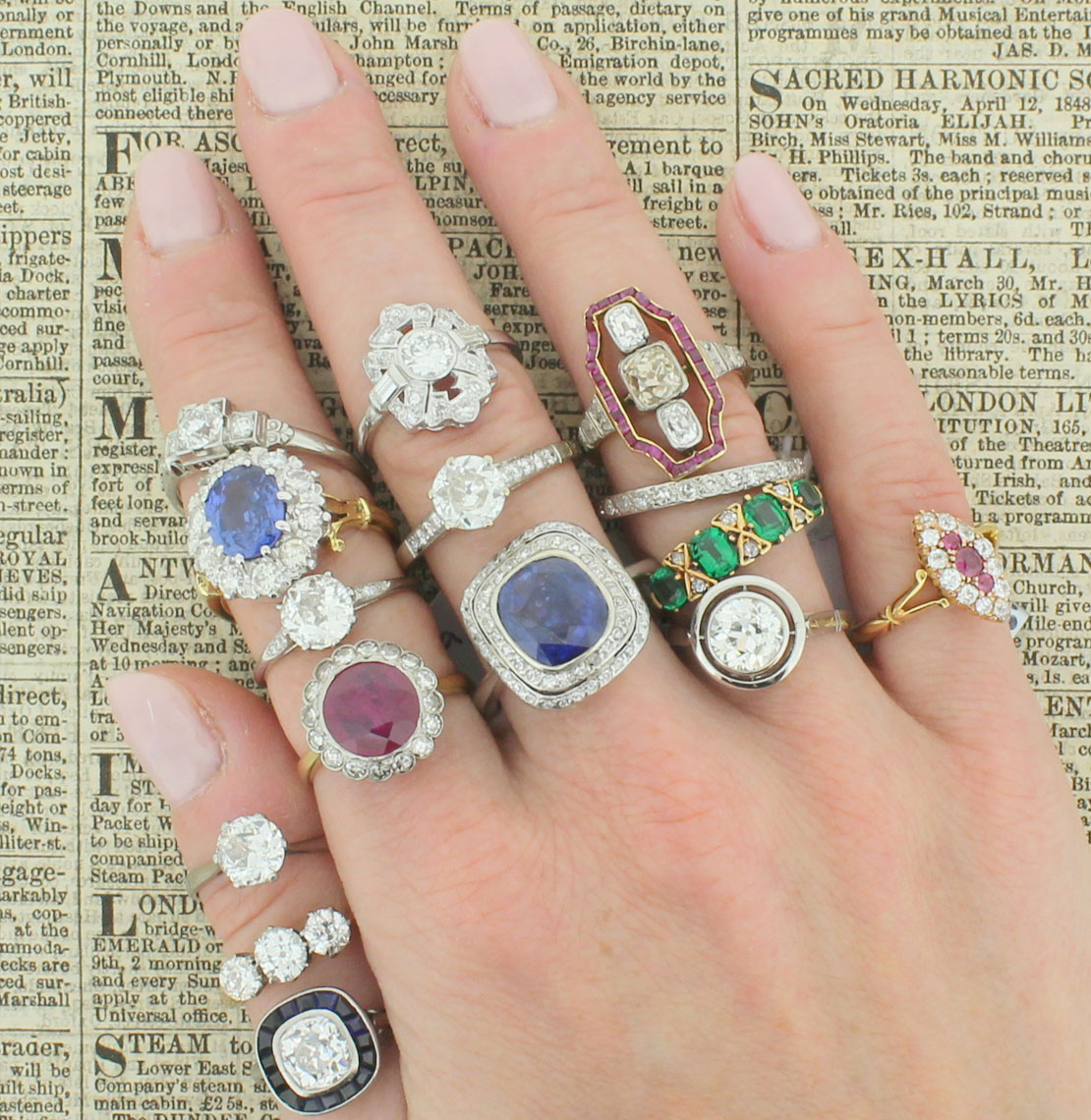 Gatsby Jewellery Fine Vintage Amp Antique Engagement Rings