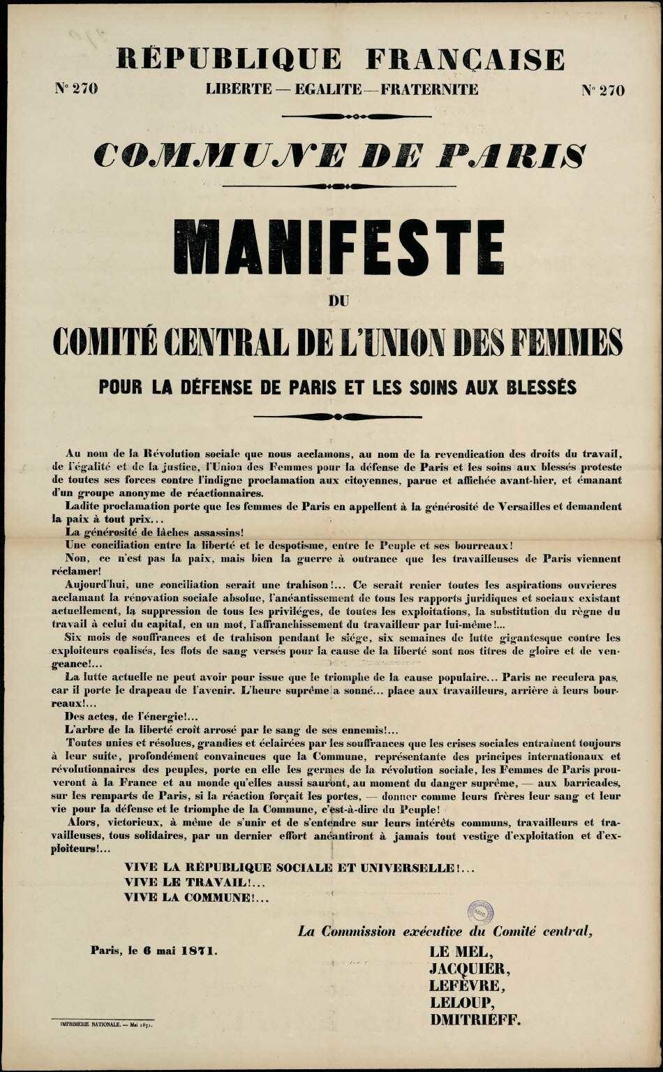 Read more about the article Les combats inachevés des Communardes