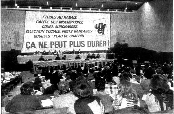 "Read more about the article <span class=""entry-title-primary"">Défense du syndicalisme étudiant</span> <span class=""entry-subtitle"">A propos de l'UNEF</span>"