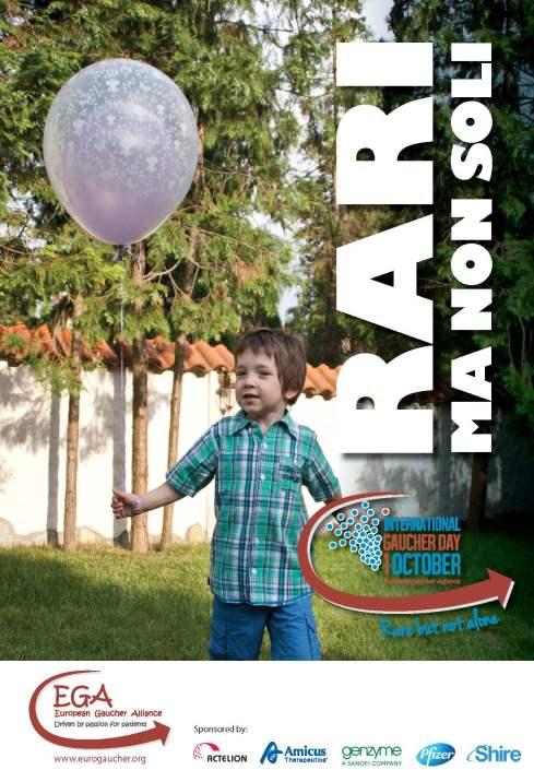 Seconda Giornata Internazionale per la sensibilizzazione sulla Malattia di Gaucher