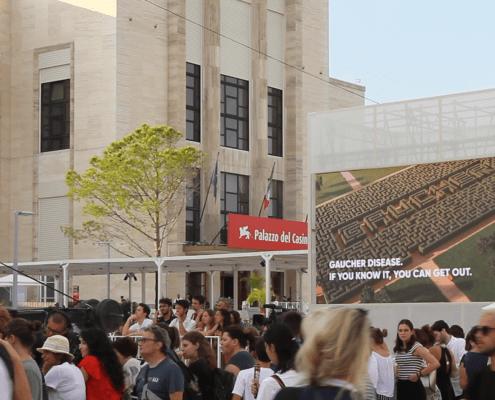 Associazione Italiana Gaucher alla 75° Mostra Internazionale del Cinema di Venezia