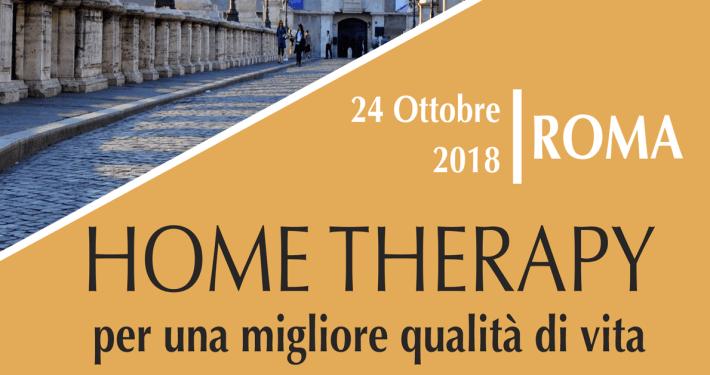 Home Therapy per una migliore qualità di vita: Convegno a Roma, il 24 ottobre