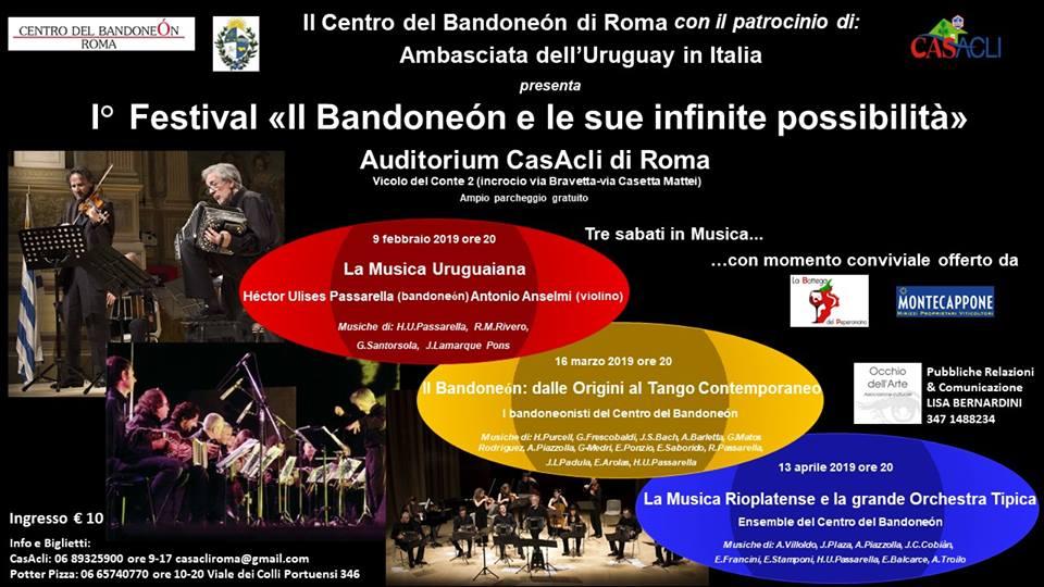 Festival 'Il bandoneón e le sue infinite possibilità' passarella