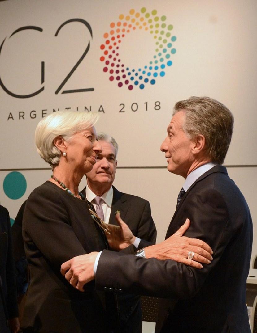 argentina fmi macri lagarde