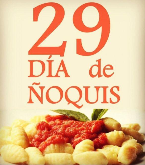 argentina perché si mangiano gnocchi del 29 ogni mese