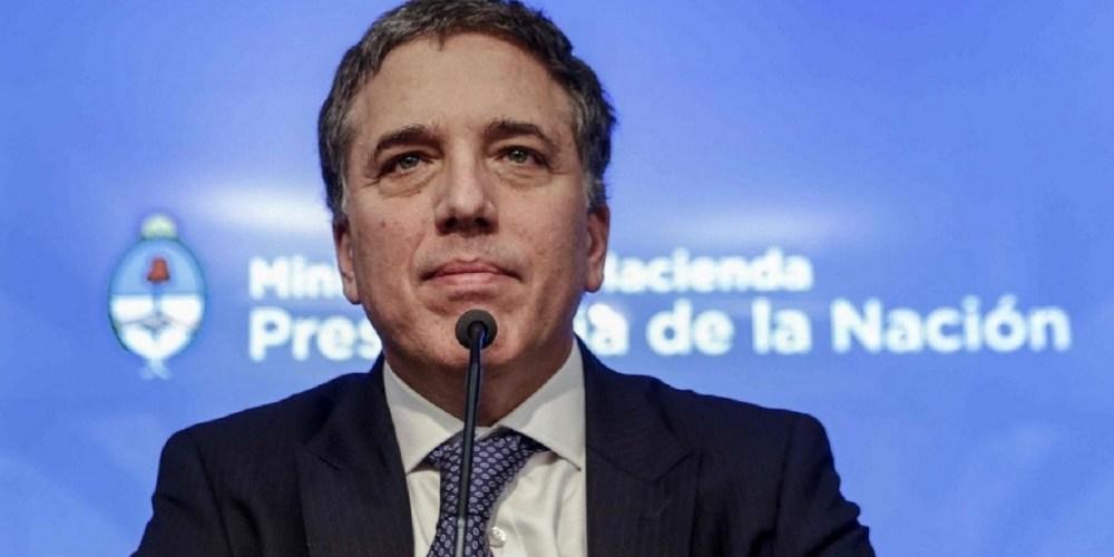 argentina fmi dimissioni ministro finanze dujovne lacunza