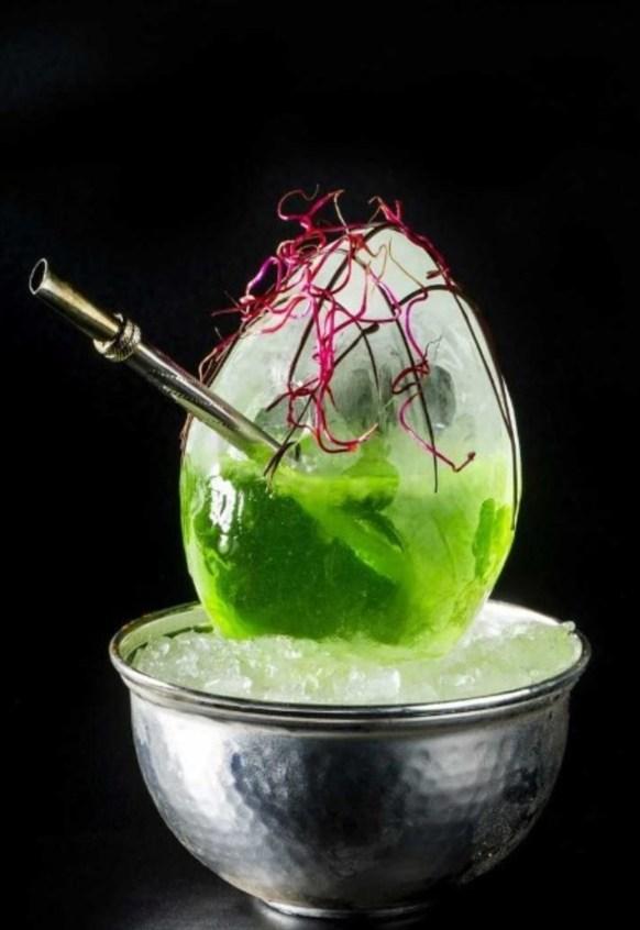 cocktail yerba mate