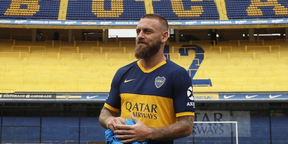 daniele de rossi superclasico data ora boca juniors river plate