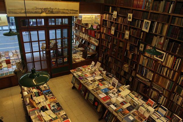librerie di Buenos Aires caleidoscopio