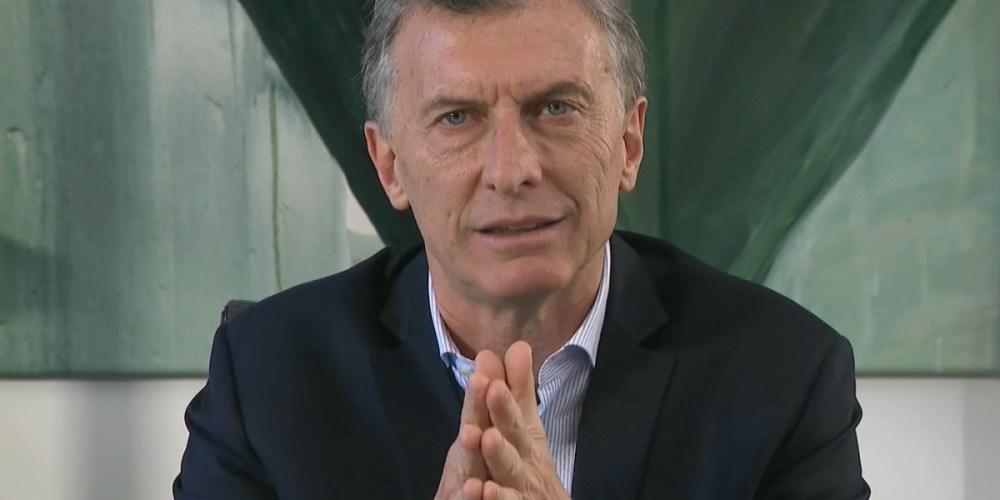 mauricio macri elezioni argentina 2019