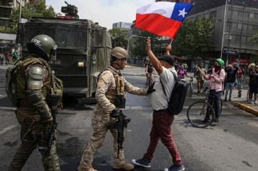 argentina manifestazioni scontri cile sudamerica bolivia