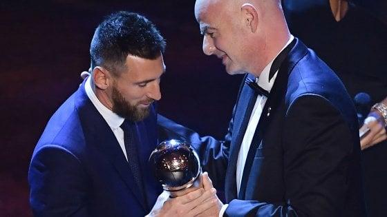 lionel messi best fifa awards 2019