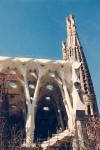 Gaudí: The Sagrada Família in 1993, with the vaults