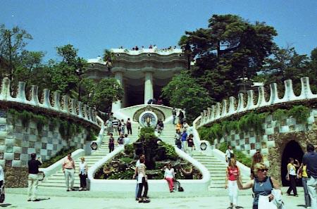 Πάρκο Guell - είσοδος