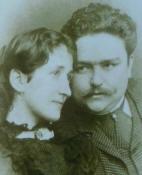 Albéniz con su esposa Rosina Jordana
