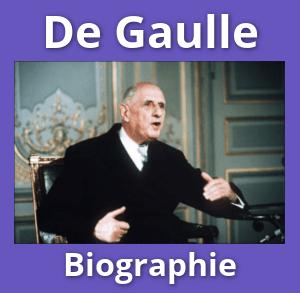 De Gaulle : biographie et documents