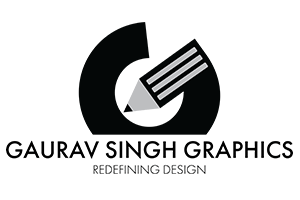 Gaurav Singh Graphics creative logo for your online graphic designer delhi India
