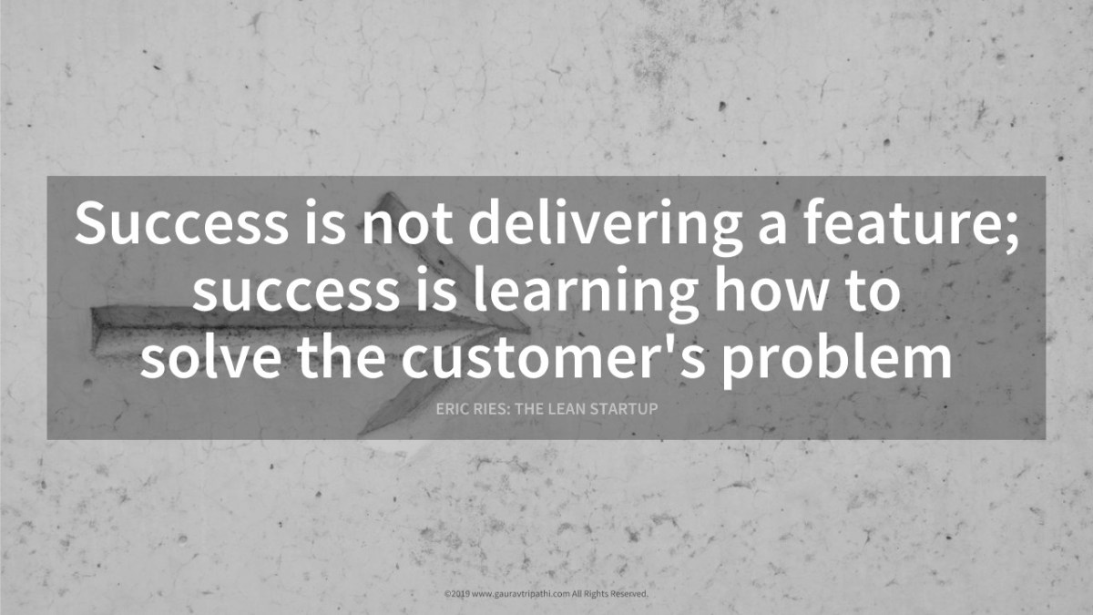 What is success in a product's context ?