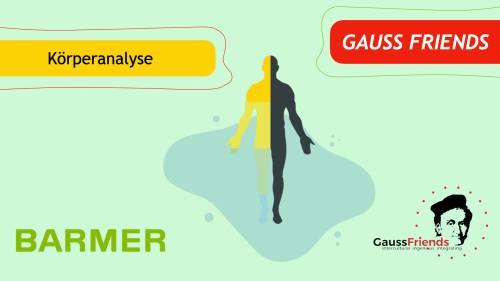 Barmer & Gauss Friends: Body Analysis