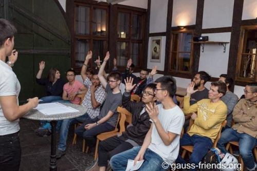 General Assembly of international students