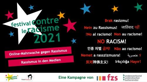 Online-Mahnwache gegen Rassismus