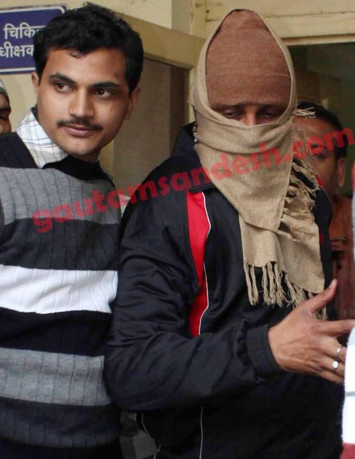 यौन शोषण का आरोपी सिपाही कोर्ट में पेश, जेल गया