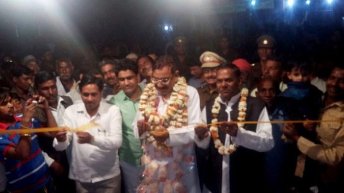 राज्यमंत्री ने फीता काट कर किया पौराणिक मेले का उद्घाटन