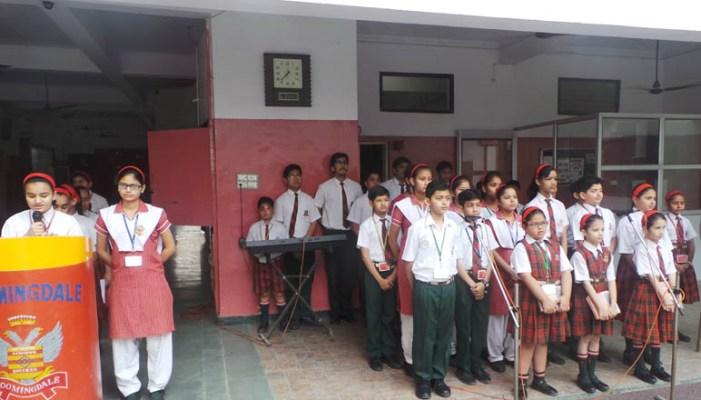 सपा कार्यालय और ब्लूमिंगडेल स्कूल में मनाई गई चन्द्रशेखर की जयंती