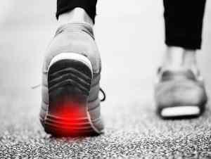 כאבים בכרית כף הרגל