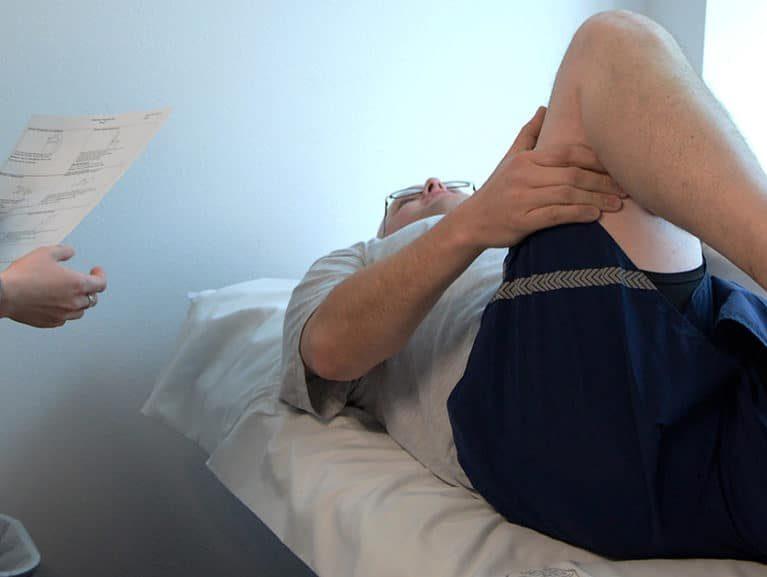 פציעות ספורט אבחון
