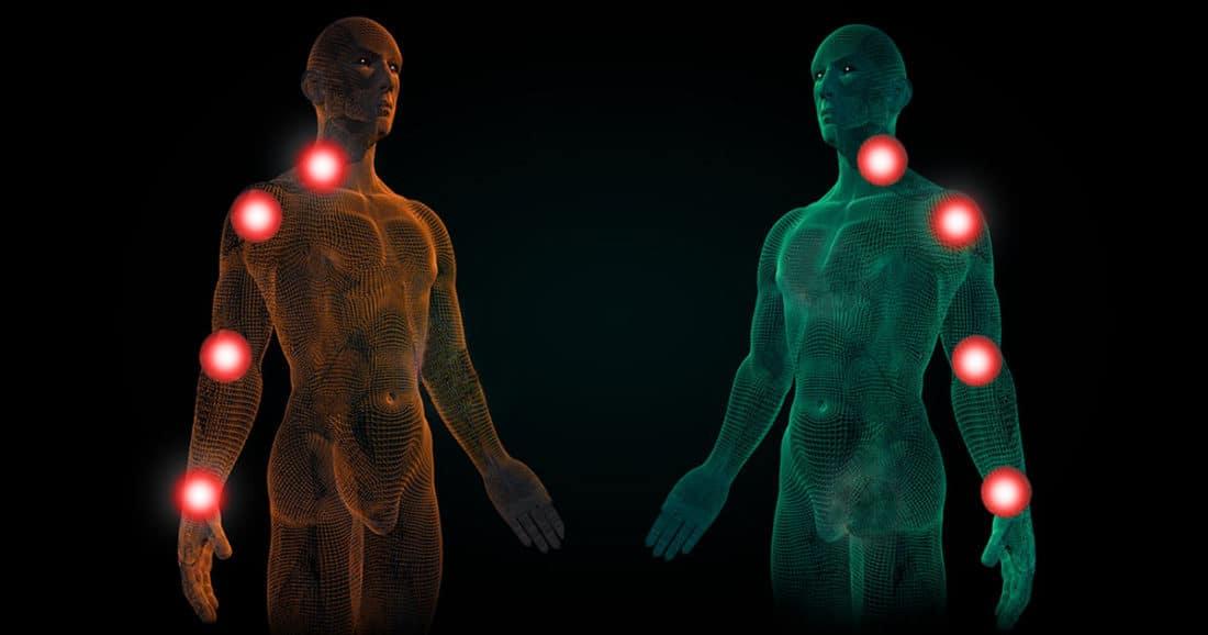 בלט דיסק צווארי אבחון ואבחנה מבדלת