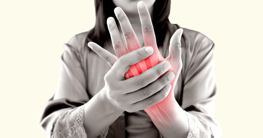 כאבים בגפה העליונה