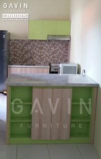 Harga Kitchen Set Minimalis Murah Finishing HPL