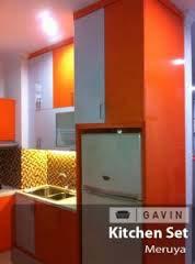 Kitchen Set Murah Finishing HPL Kombinasi Warna
