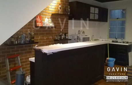 Kitchen Sets Dengan Minibar Di Karawaci