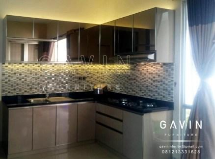interior kitchen set minimalis modern