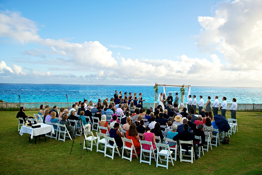 Stephanie Amp Adams Mid Ocean Club Bermuda Wedding