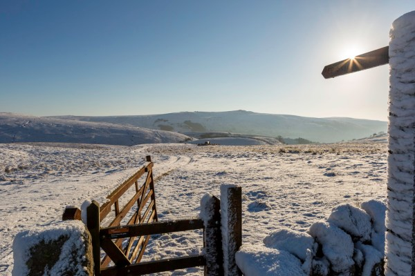 Snow, Yorkshire Dales, National Park