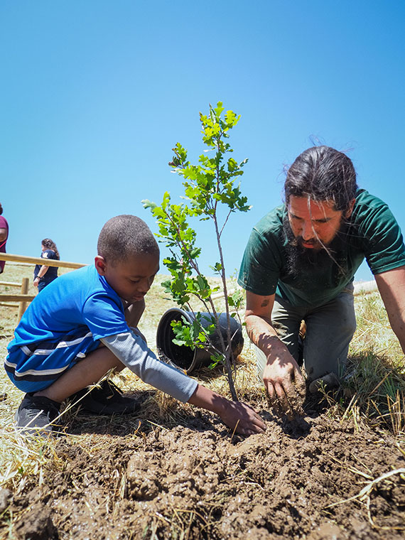 Earth Day. Photo courtesy Santa Ynez Band of Chumash Indians.