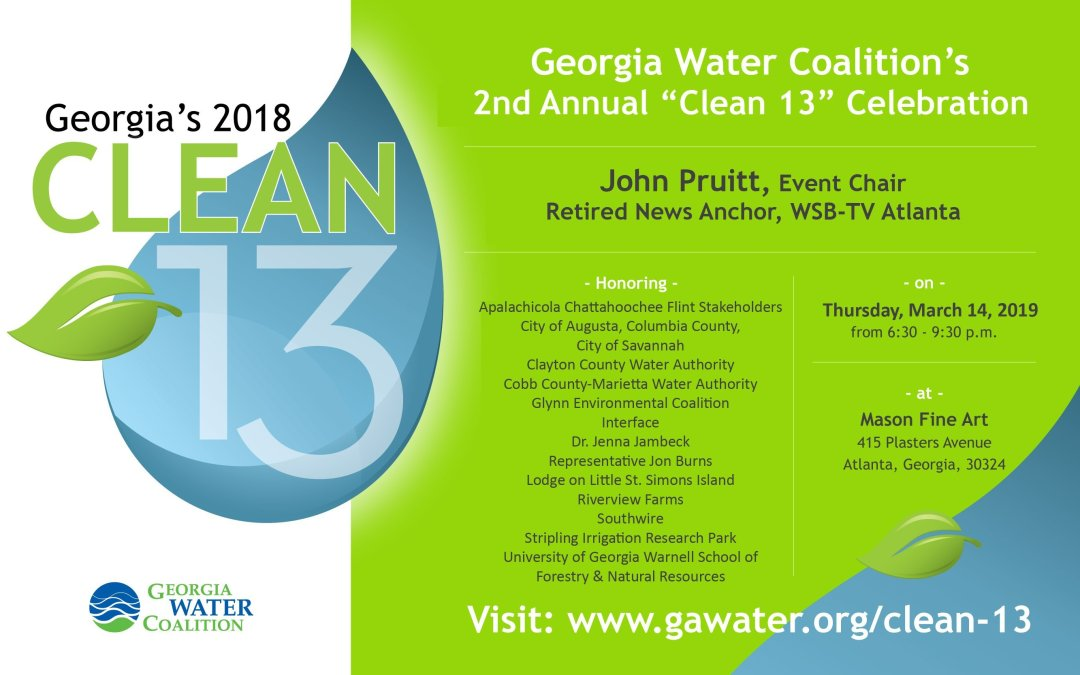 Clean 13 - Georgia Water Coalition