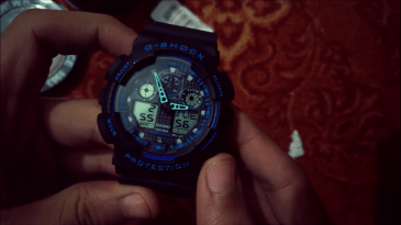 Gshock Fake hand check